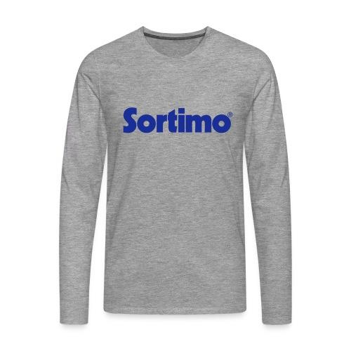 Sortimo - Långärmad premium-T-shirt herr