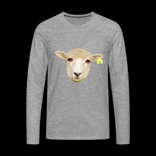WEED SHEEP - Maglietta Premium a manica lunga da uomo