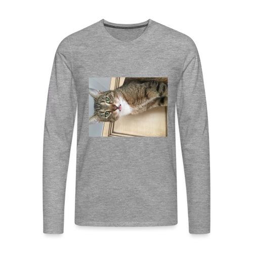 Kotek - Koszulka męska Premium z długim rękawem