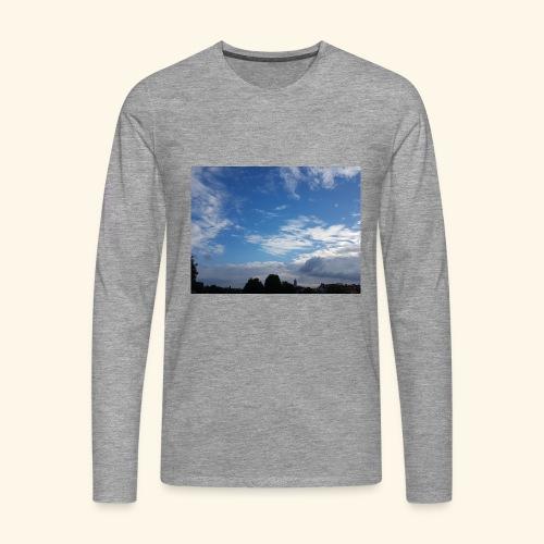 himmlisches Wolkenbild - Männer Premium Langarmshirt