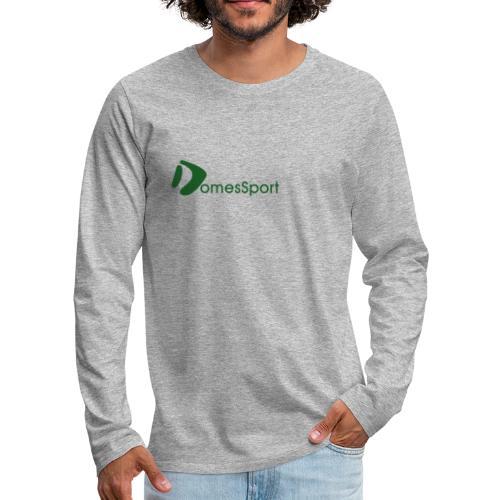 Logo DomesSport Green noBg - Männer Premium Langarmshirt
