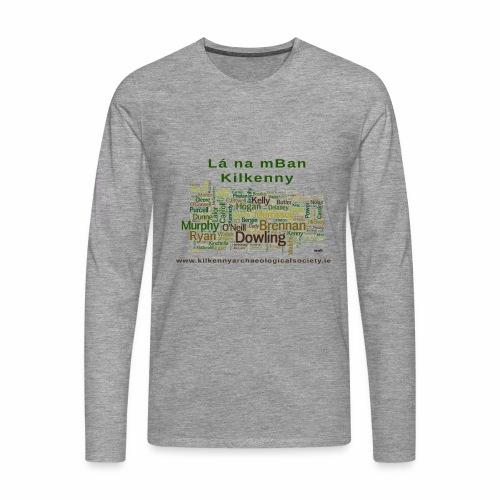 Lá na mban Kilkenny Wordle - Men's Premium Longsleeve Shirt
