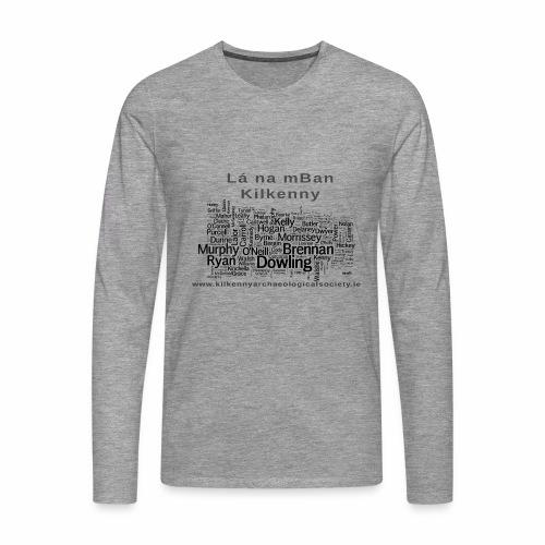 Lá na mBan black - Men's Premium Longsleeve Shirt