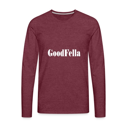Goodfellas mafia movie film cinema Tshirt - Men's Premium Longsleeve Shirt