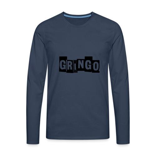 Cartel Gangster pablo gringo mexico tshirt - Men's Premium Longsleeve Shirt