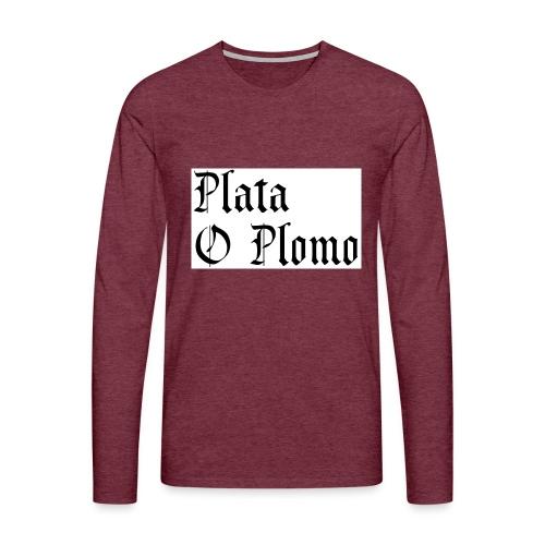 Plata o plomo - T-shirt manches longues Premium Homme