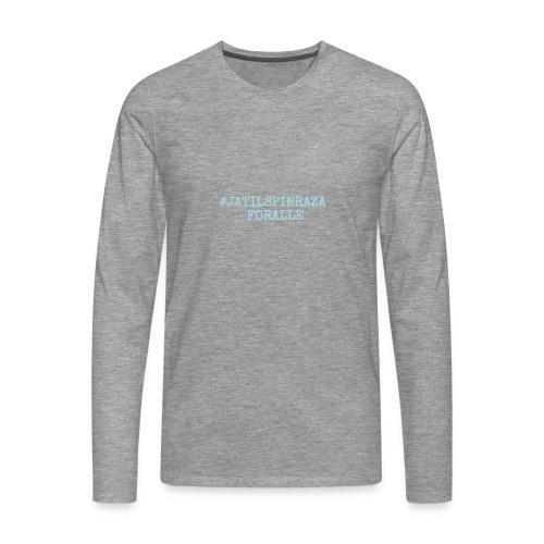 #jatilspinrazaforalle - lysblå - Premium langermet T-skjorte for menn
