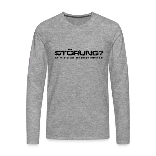 stoerung_b - Männer Premium Langarmshirt