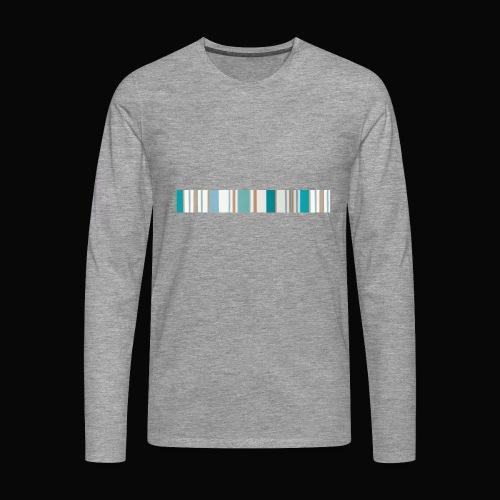 stripes - Camiseta de manga larga premium hombre
