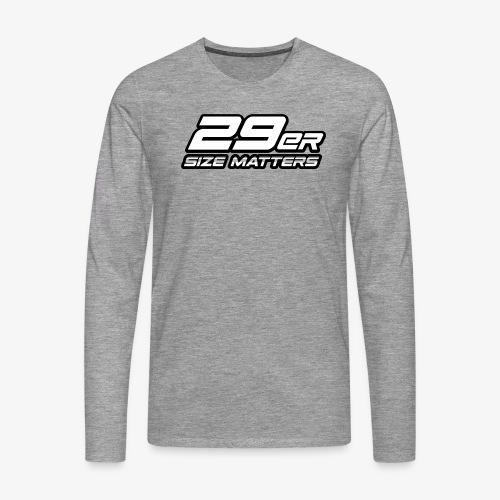 29er size matters - Men's Premium Longsleeve Shirt