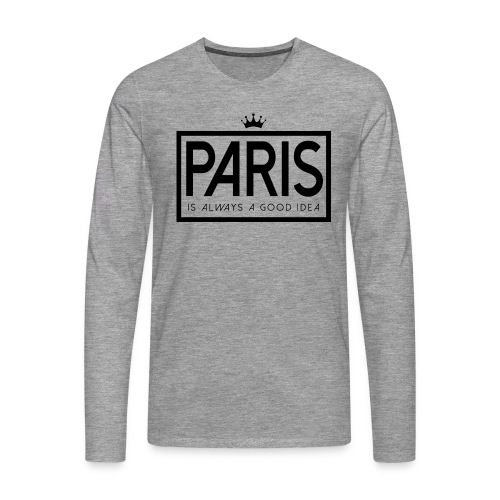 PARIS, FRANCE - Men's Premium Longsleeve Shirt