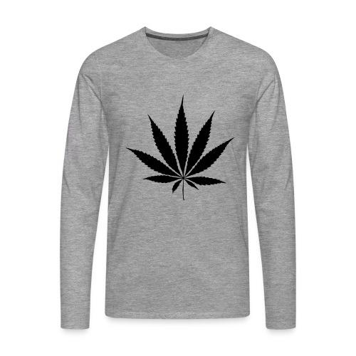 Weedblatt - Men's Premium Longsleeve Shirt