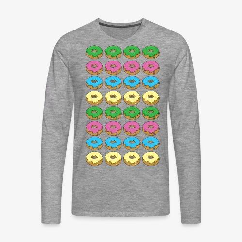 doughnuts - Men's Premium Longsleeve Shirt