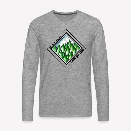 Love Nature - Männer Premium Langarmshirt