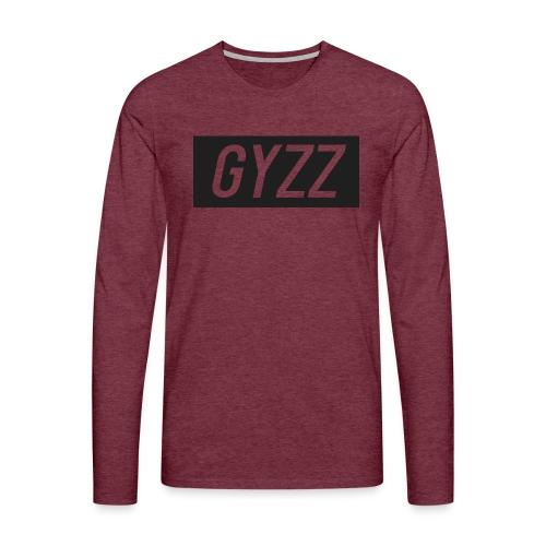 Gyzz - Herre premium T-shirt med lange ærmer