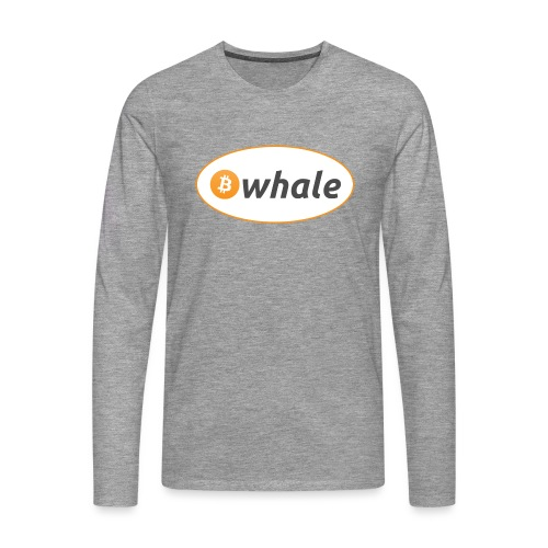 Bitcoin Whale - Men's Premium Longsleeve Shirt