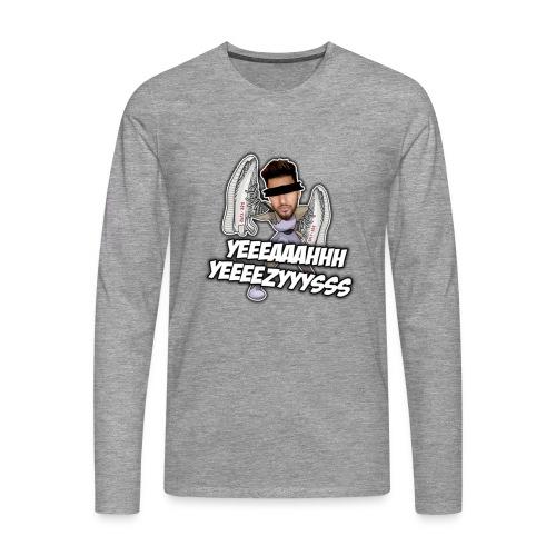 Yeah Yeezys! - Männer Premium Langarmshirt