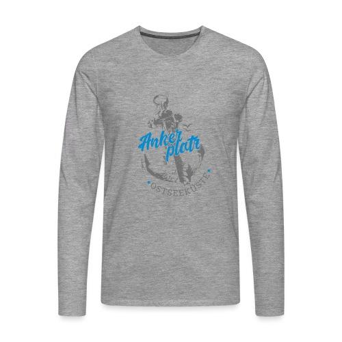Ankerplatz - Männer Premium Langarmshirt