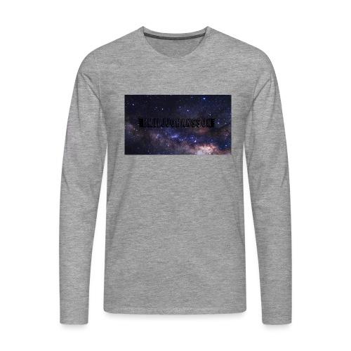 EMILJJOHANSSON - Långärmad premium-T-shirt herr