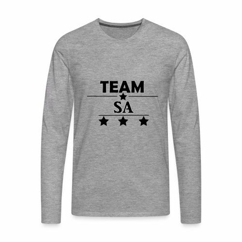 Team SA Logo - Långärmad premium-T-shirt herr
