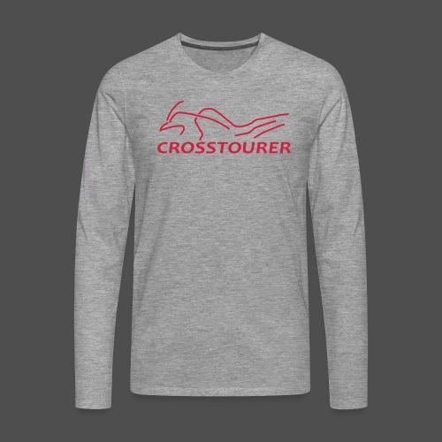 Crosstourer - Koszulka męska Premium z długim rękawem