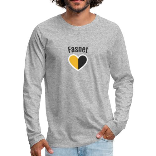 Fasnet - Männer Premium Langarmshirt