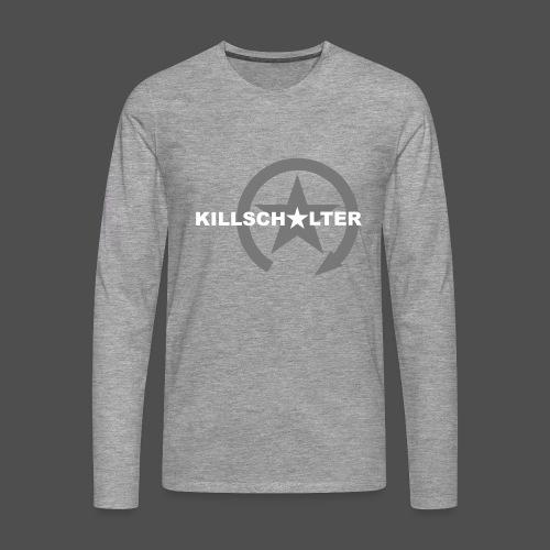 Logo marki KILLSCHALTER - Koszulka męska Premium z długim rękawem