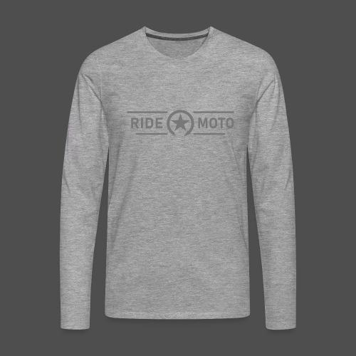 ride moto killschalter Logo - Männer Premium Langarmshirt