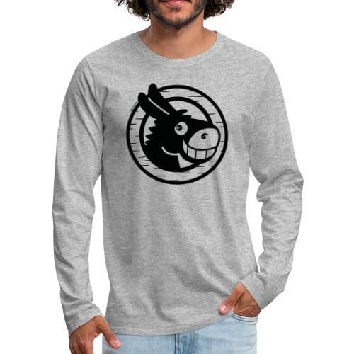 Burrín - Camiseta de manga larga premium hombre