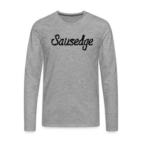 K S script - Långärmad premium-T-shirt herr