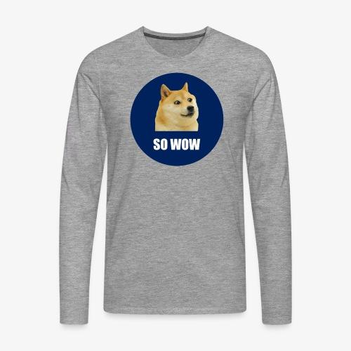 SOWOW - Men's Premium Longsleeve Shirt