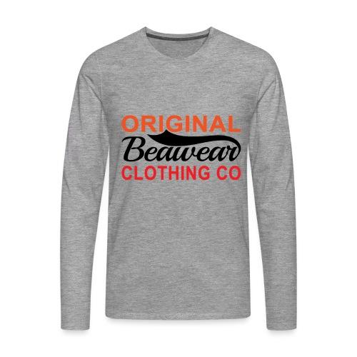 Original Beawear Clothing Co - Men's Premium Longsleeve Shirt