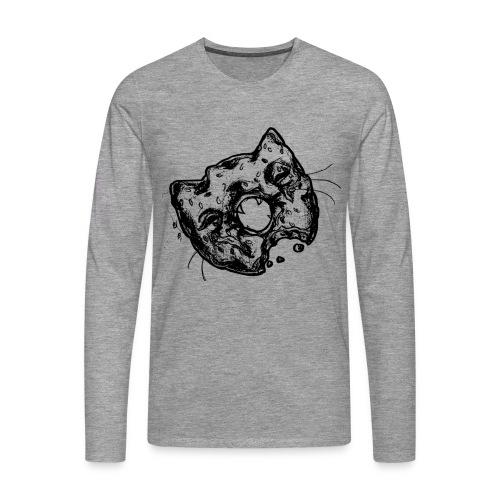 Dona Gato Negro - Camiseta de manga larga premium hombre