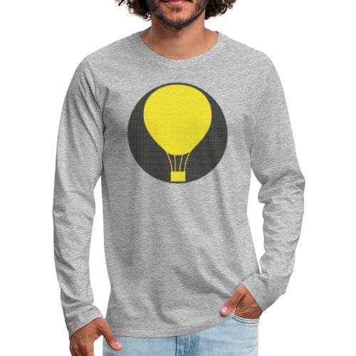 Heissluftballon - Männer Premium Langarmshirt