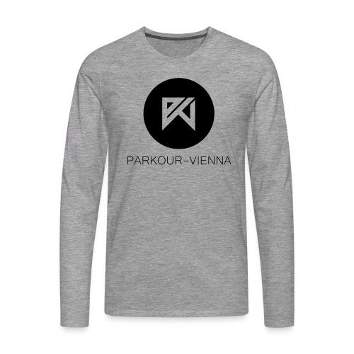 PKV Logo toktok - Männer Premium Langarmshirt