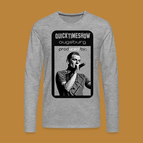 shirt01 png - Männer Premium Langarmshirt