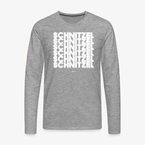 SCHNITZEL #02 - Männer Premium Langarmshirt