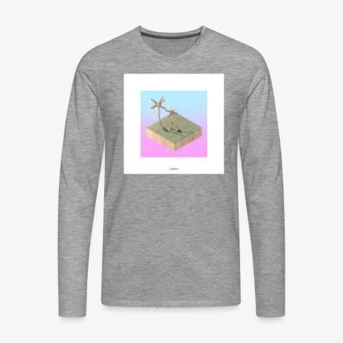 ISLAND #01 - Männer Premium Langarmshirt