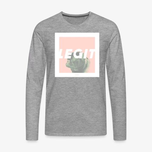 LEGIT #03 - Männer Premium Langarmshirt