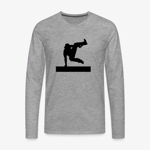Parkour vault speedvault - T-shirt manches longues Premium Homme