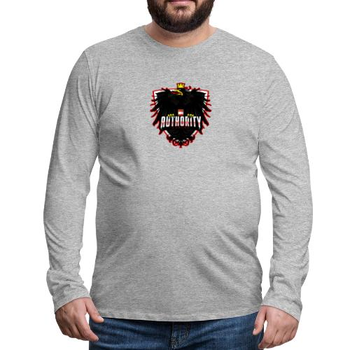 AUThority Gaming red - Männer Premium Langarmshirt