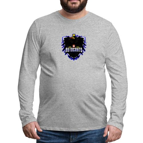 AUTocrats blue - Männer Premium Langarmshirt