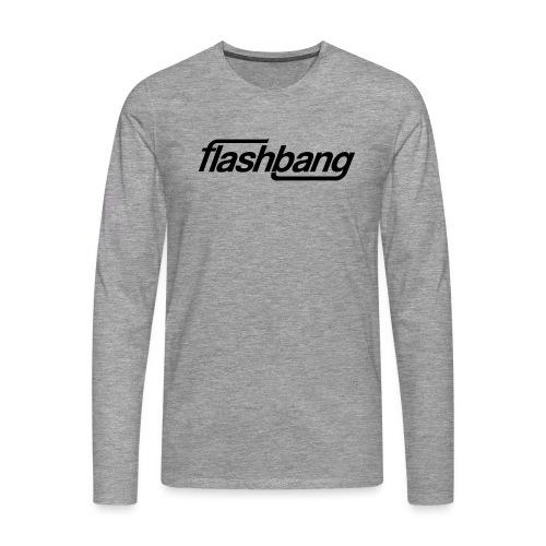 FlashBang Enkel - 100kr Donation - Långärmad premium-T-shirt herr