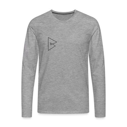 dstrbng official logo - Men's Premium Longsleeve Shirt