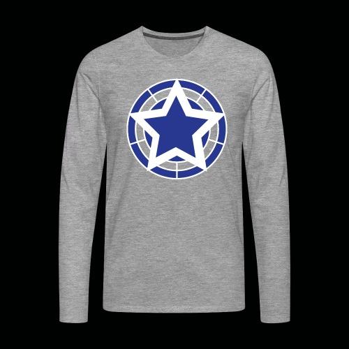 Stern Logo - Männer Premium Langarmshirt