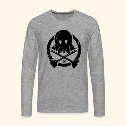 molly roger noir - T-shirt manches longues Premium Homme