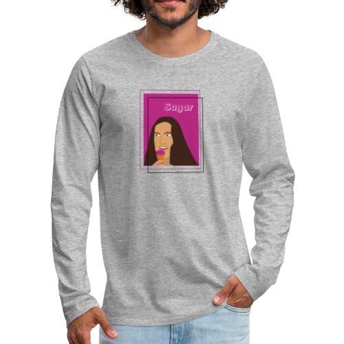 SUGAR - Camiseta de manga larga premium hombre