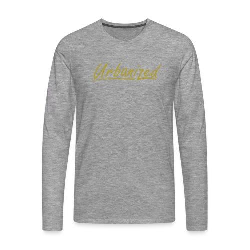 Urban Gold - Men's Premium Longsleeve Shirt