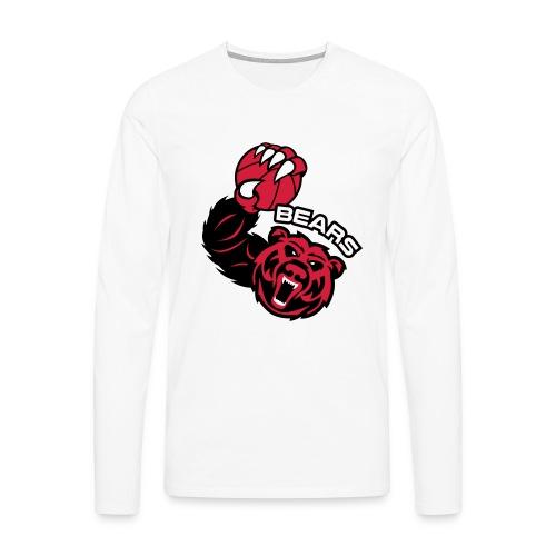 Bears Basketball - T-shirt manches longues Premium Homme