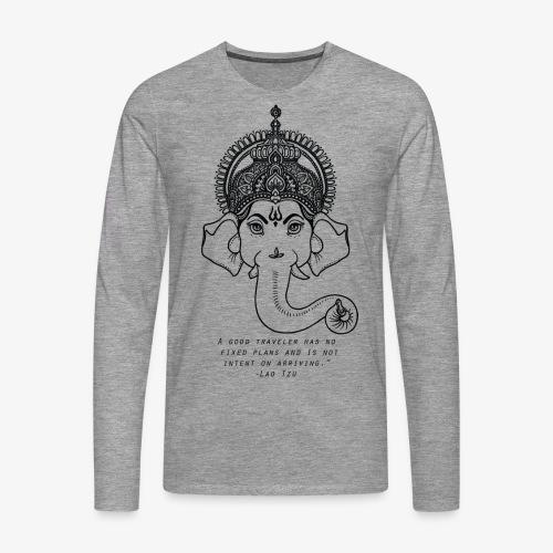 Travel quote 4 - Men's Premium Longsleeve Shirt